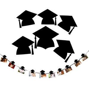 NE-Professor-Hat-Graduation-Mortarboard-Photo-Banner-with-Clip-Garland-Decor-Ca