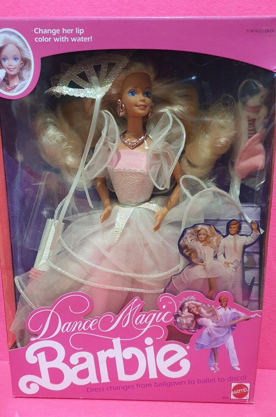 Barbie Dance Magic Mattel Vintage 89'
