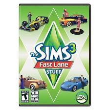 Sims 3: fast lane stuff (windows/mac, 2010) | ebay.