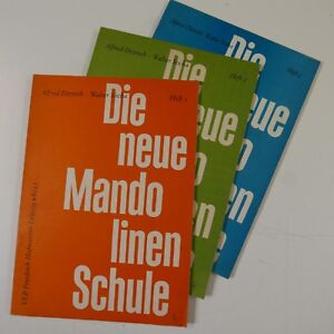 Die Neue Mandolinen Schule 1 - 3 Alfred Dittrich/walter Socha-afficher Le Titre D'origine