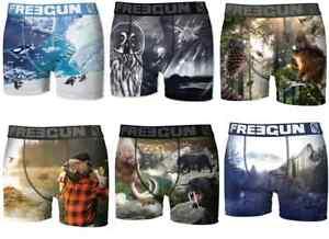 FREEGUN-Herren-Boxershorts-40x-versch-MEGA-Designs-Retroshorts