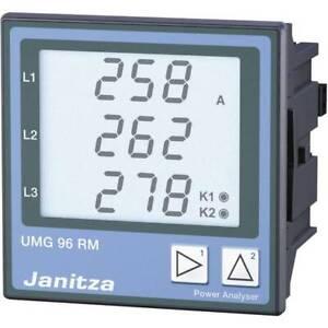 Janitza-umg96rm-e-analizzatore-di-rete-ethernet-campo-misura-l-n-10-300