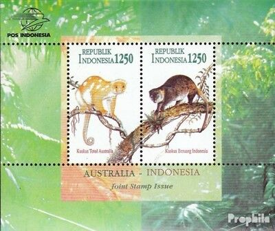 Capable Indonesia Block 108 Mint Never Hinged Mnh 1996 Kuskuse Delicious In Taste
