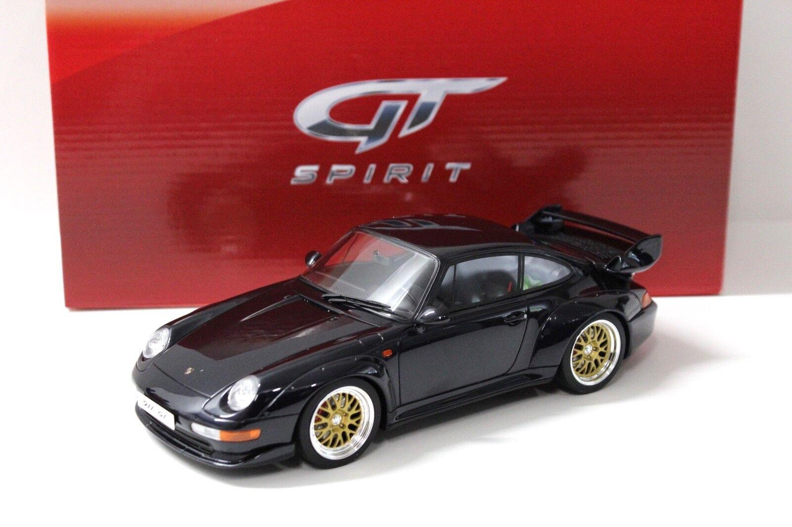 1 18 GT Spirit Porsche 911 993 Gt 1995 Dark bleu NEW chez Premium-modelcars