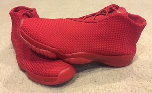 98414cb764bd Custom Nike Air Jordan Future - Red On Red Retro XI 11 656503-601 sz ...