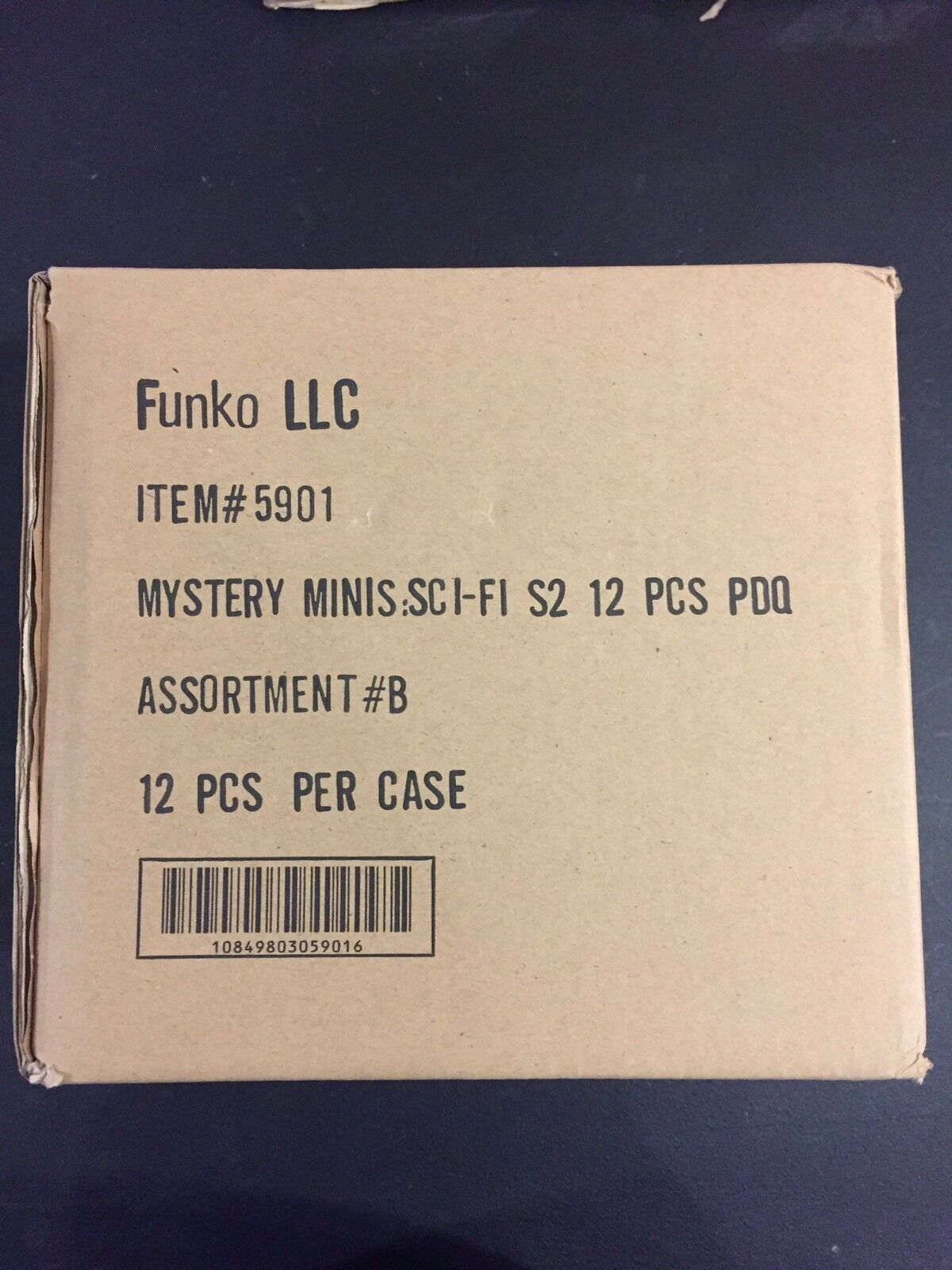 Funko Sci Fi Series 2 (Box B) Mystery Minis blind box Full Unopened Case of 12