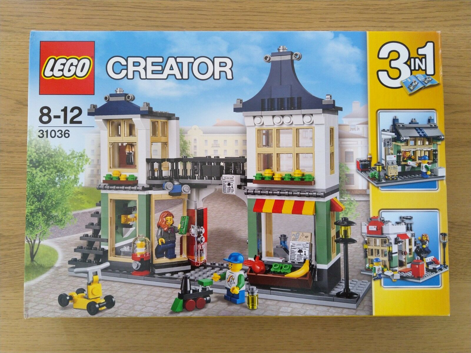 Lego Creator 31036 - 3 in 1 Set - Toy and Grocery Shop - Brand New Sealed
