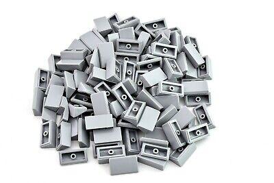 Light Bluish Gray  Plate 8x16 X5 by TCM Bricks Compatible Bulk Parts