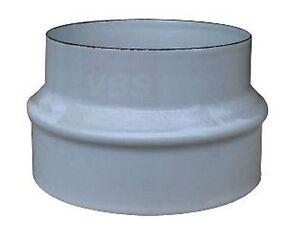 Adattatore maggioratore tubo tubi stufa a legna e diffusori di calore 2 colori ebay - Radiatore per stufa a legna ...