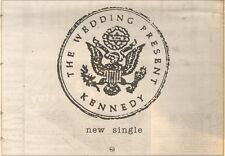 30/9/89Pgn70 Advert: The Wedding Present 'kennedy' New Single On Rca 7x11