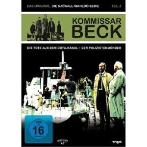 Il-commissario-Beck-parte-2-2-DVD-merce-nuova-Gosta-Ekman-Larsson-Bergqvist-Rolf-lassgard