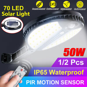50W-LED-Solar-Power-PIR-Motion-Sensor-Wall-Light-Outdoor-Yard-Lamp-Waterproof-L