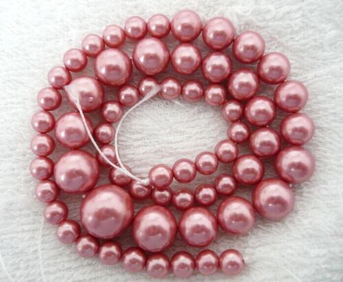 17.5-18/'/'amazonite quartz turquoise jade round 6-14mm gemstone beads necklace