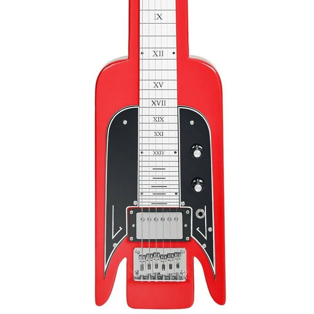 Airline Guitars Lap Steel - rot - Vintage National -inspirot Tribute Model - NEW