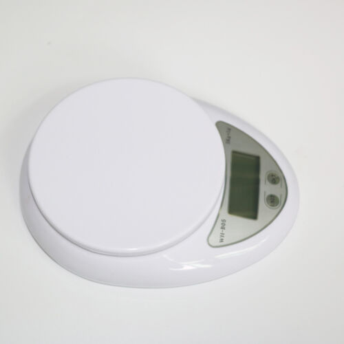 5kg//1g Portable Digital LED Electronic Scales Food Balance Measuring Weight A+++