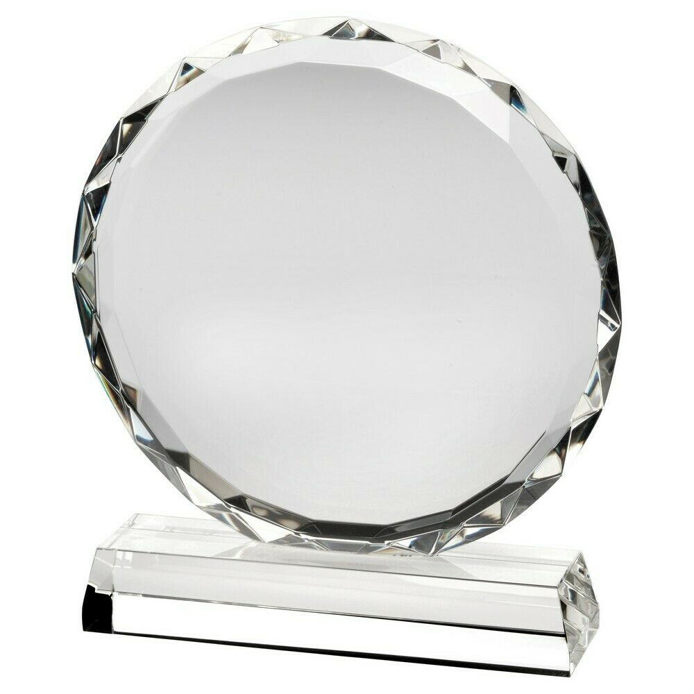 Premium Clear Glass Any Event Trophy Award Gift Present FREE Engraving LCG5