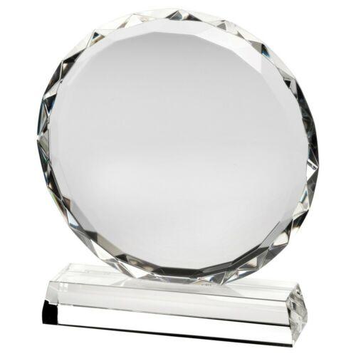 Premium Verre Transparent Tout Événement Trophée Cadeau Gratuite Gravure Lcg5