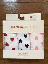 NWT Hanna Andersson CLASSIC Unders RAINBOW UNICORN KITTY HEART XL 160 14-16