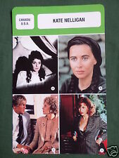 KATE NELLIGAN - MOVIE STAR - FILM TRADE CARD - FRENCH