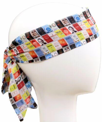 Bestseller Book lover yoga headband Birthday Gift for her mom nerd geek present