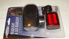BICYCLE HEADLIGHT &LED REARLIGHT QUICK RELEASE BRACKET INCLUDED