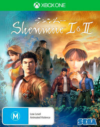 Shenmue 1 I & 2 II Jujitsu Open World Action Adventure Game Microsoft XBOX One