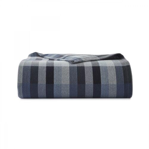 Eddie Bauer Windsor Stripe Piece Blanket Cotton Twin//Full//Queen//King