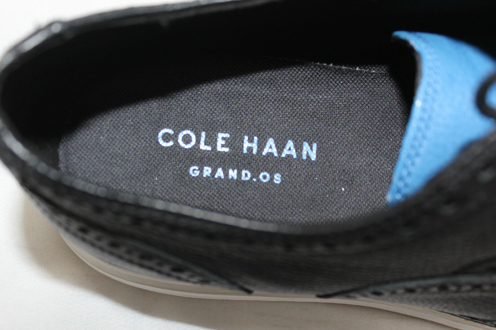 Para Para Para Hombre Cole Haan 'Original Grand Wingtip' Oxford Negro Desierto 9M II-C21226 (S30) bd79bd