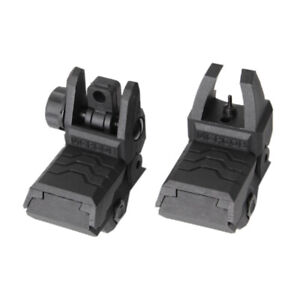 Low-Profile-Flip-up-Tactical-Sight-Folding-Iron-Sights-Front-Rear-Hunting