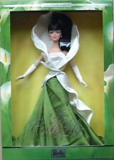 THE CALLA LILY BARBIE DOLL Flowers in Fashion Collection NEW in Shipper