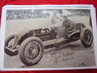 1938 Indy 500 Race Car Floyd Roberts 11 X 17 Photo Picture