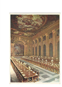 Postcard-The-Painted-Hall-Royal-Naval-College-Greenwich-London-B4g