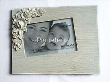 CORNICE PORTAFOTO FOTOGRAFIA IN LEGNO E CERAMICA BIANCO SHABBY CHIC 10x15cm CASA