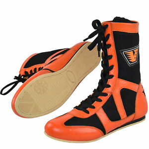VELO Boxing Boots Shoes Mens Gym Training Adult Sports Wrestling Light weight