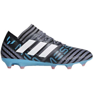 2b5d13e8c7fc adidas Men s Nemeziz Messi 17.1 FG Grey White Core Black CP9028