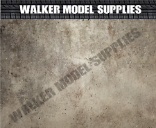 Lösen und Auftragen Sticker Modell Pkw 1:18-1:24 Maßstab Garage Wand 3xA4