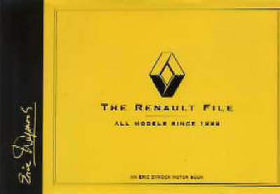 1 of 1 - The Renault File: All Models Since 1898 by Eric Dymock (Hardback, 1998)