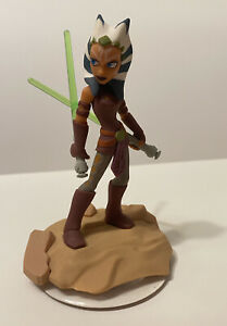Ahsoka-Tano-Figure-W-Base-Star-Wars-Disney-Infinity-Loose-Great-Condition