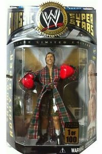 WWE-CLASSIC-SUPERSTARS-RODDY-PIPER-1-OF-100-1-100-TOY-FIGURE-BOXING-RED-GLOVES