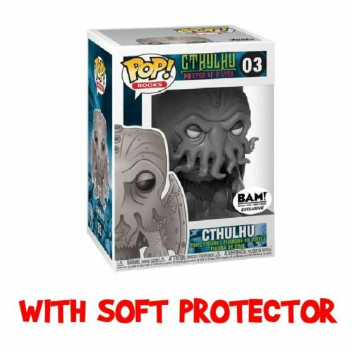 FUNKO POP CTHULHU 03 Black /& White Grey BAM EXCLUSIVE BOOK Horror