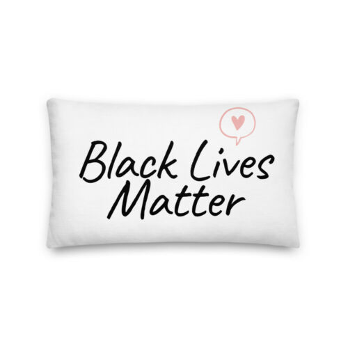 Black Lives Matter Premium Pillow