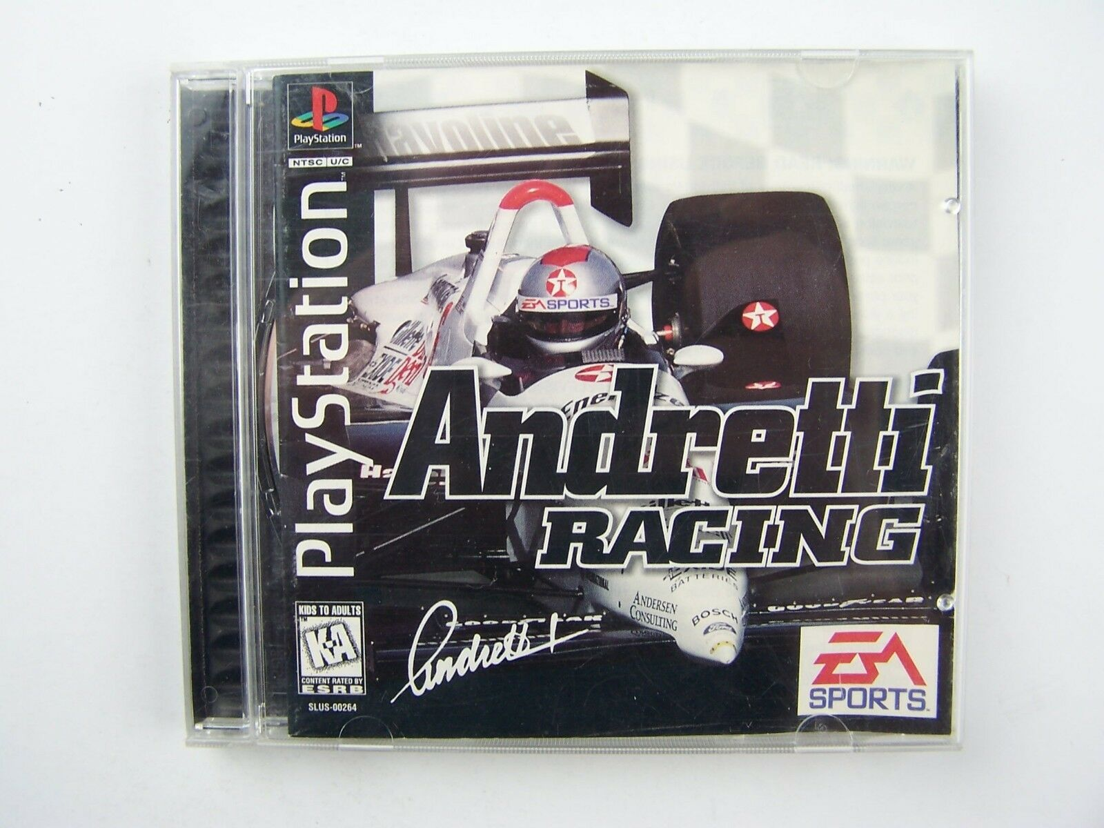 Andretti Racing: Playstation 1 Game