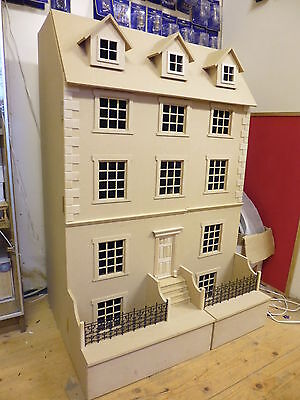 1/12 scale Georgian 8 room Town House Kits 700mm wide  by DHD