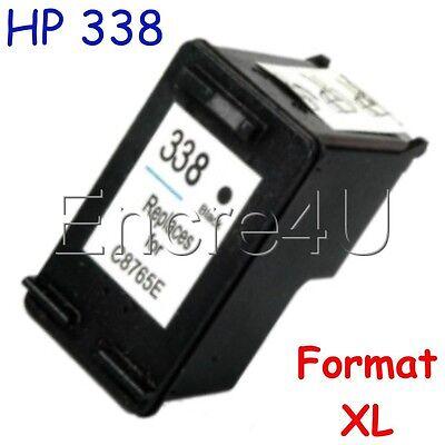 Lot encres compatibles HP 338 343 XL imprimantes Photosmart x1 2 3 4 cartouches