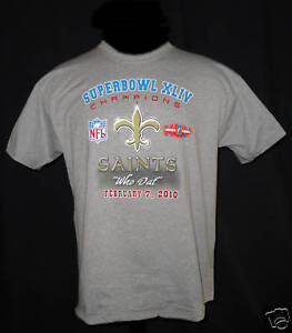 New Orleans Saints Super Bowl 44