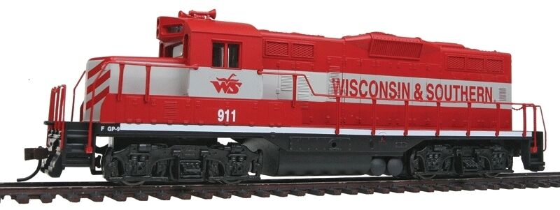 Traccia h0-US DIESEL gp9m Wisconsin & Southern -- 143 NUOVO