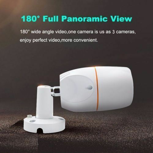 2.0MP CCTV AHD Security Camera HD 1080P 180 degree fisheye Night Vision 4 in 1,