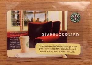 RARE-2006-034-RED-COMFY-CHAIR-034-Starbucks-UK-Payment-Card-UKA-007