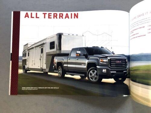 2016 GMC Sierra HD Truck 44-page Original Car Sales Brochure Catalog 2500 3500