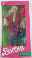 Barbie United Colors of Benetton Barbie Original Box w/accessories Toy Club 1990